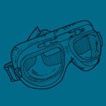 Masque de pilote